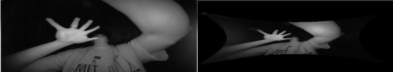 Leap Motion as a Rudimentary Depth Sensor