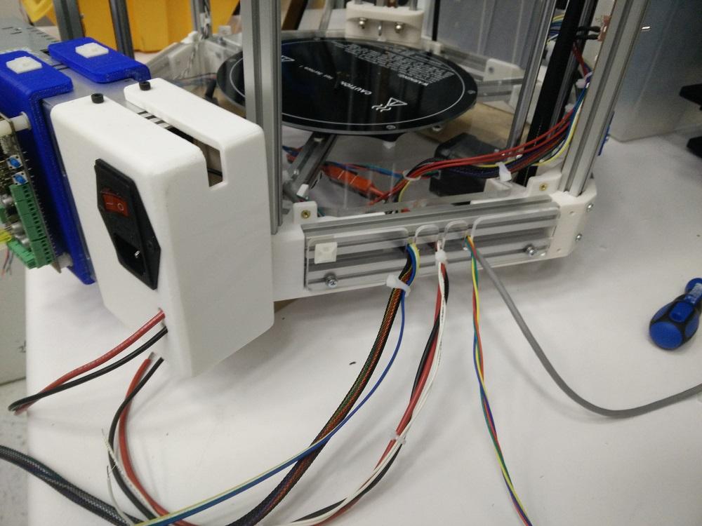 Towards a New Delta Printer - Part 3 - Wiring